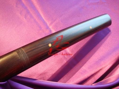 shirasaya oni hanzo - aço damasco