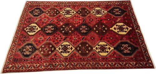 shiraz 270x185cm artesanal legitimo tapete persa rustico cer