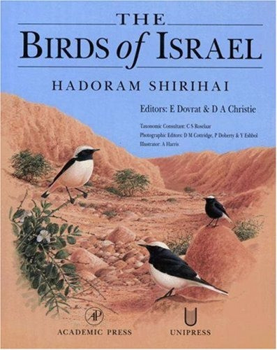 shirihai: the birds of israel