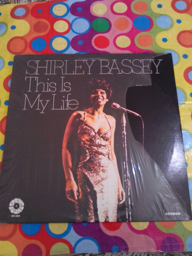 shirley bassey lp this is my life. importado u.s.a.