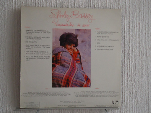 shirley bassey  - throughts of love