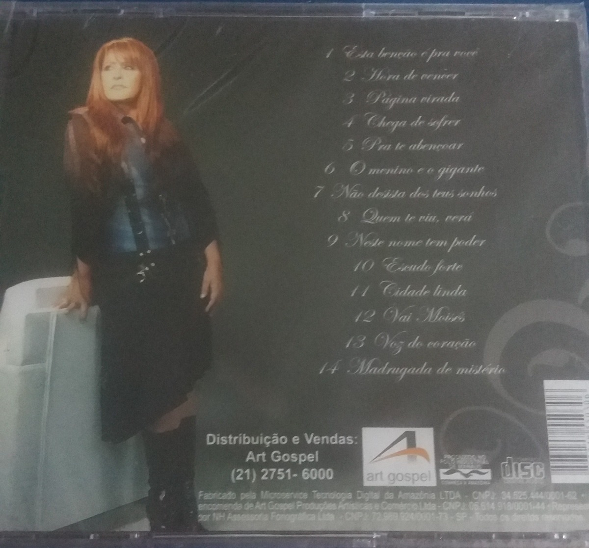cd shirley carvalhaes pagina virada pb