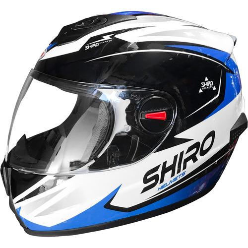 shiro motos casco