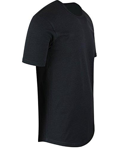 230054fad3ef Shirtbanc Mens Hipster Hip Hop Long Drop Tail Camisetas - $ 79.777 ...