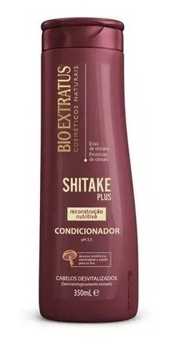 shitake plus reconstrução sh+ cd 350ml + más 500g + fin 200g + spray 300ml  bio extratus