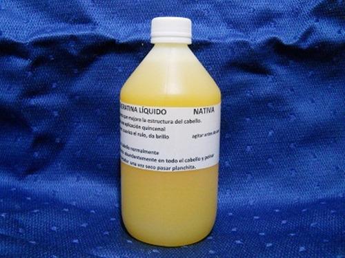 shock de keratina liquido nativa home 1 litro