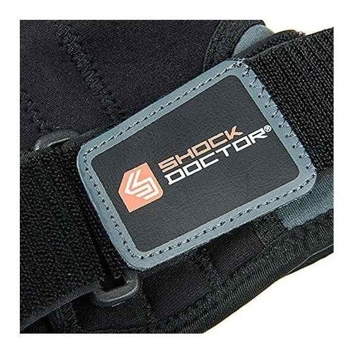 shock doctor knee stabilizer con soporte flexible stays (neg
