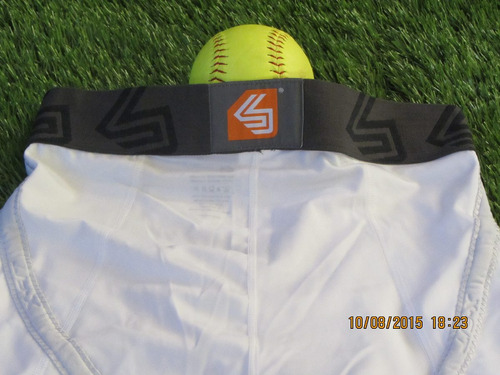 shock doctor sliding compression short concha xlarge 36-39