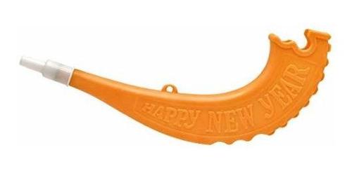 shofar toy, plastic assorted colors toy shofars (10-pack)