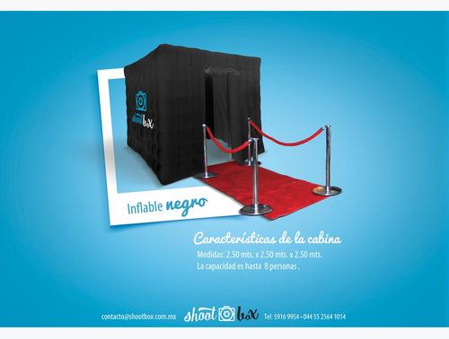 shootbox cabina fotografica, photo booth, cabina de fotos
