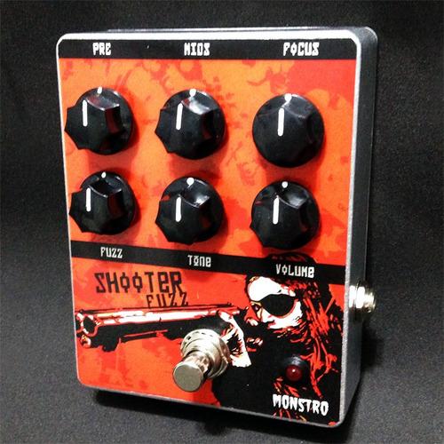 shooter fuzz pedal análogo ao musket fuzz blackout effectors