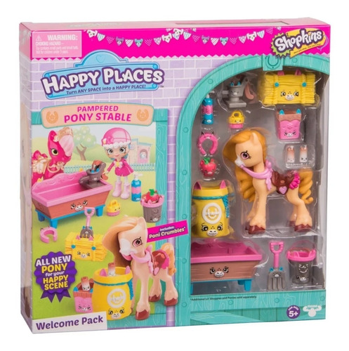 shopkins 56684 happy places muñeca c/acc
