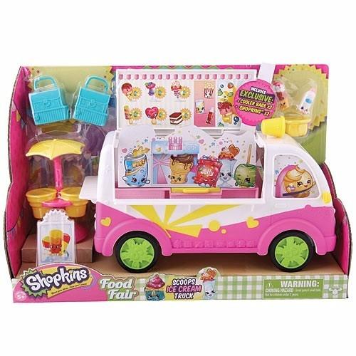 shopkins camioncito de helados incluye figuras temporada 3