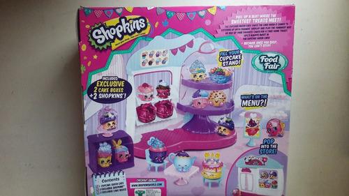 shopkins cupcake queen cafe (cafetería, incluye 2 shopkins)