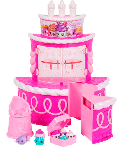 shopkins join the party play set candy bar 56357 bigshop