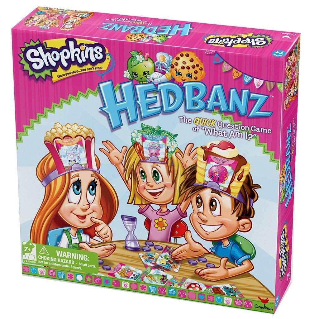 Shopkins Juego De Mesa Hedbanz 100 000 000 En Mercado Libre