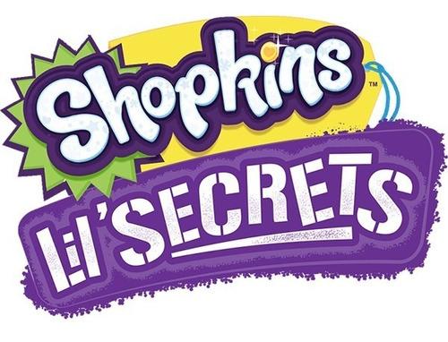 shopkins lil secrets cadeado confeitaria de cupcakes - dtc