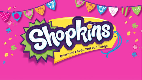 shopkins mini super+2 shopkins exclusivos bolsas y canasto