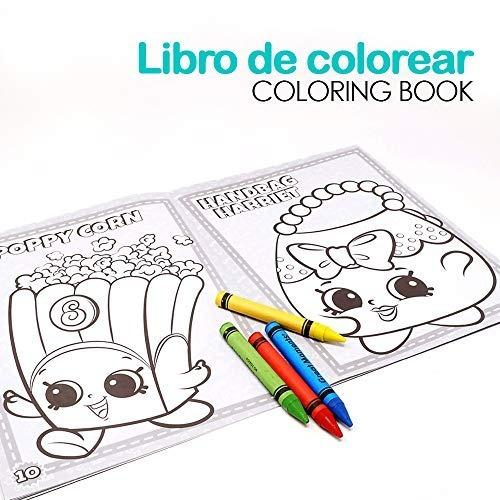Shopkins Play Pack Para Colorear Ppj1618 Sk002 Dibujar Niños