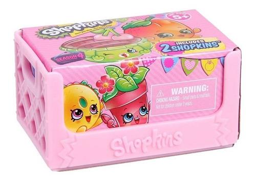 shopkins serie 4 caixote com 2 shopkins unidade