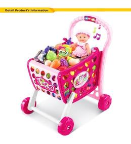 1 En Shopping 3 Carrito De Juguete Niños Cart Supermercado KFJ1lc