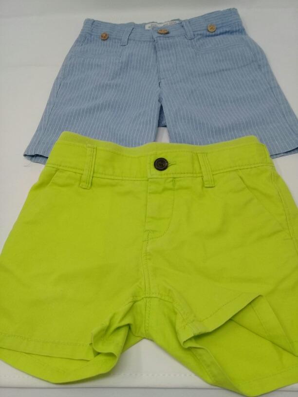 8090adb8fb short azul zara baby boy y verde babygap. la segunda bazar. Cargando zoom.