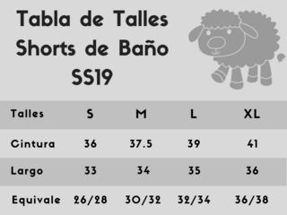 short baño malla pecora - tucano envío gratis cuotas