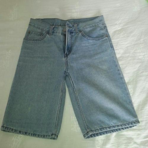 short bermuda de jeans levis