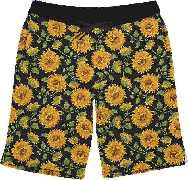 Short Bermuda Girassol Flores Primavera Verao Full 3d Tumblr R