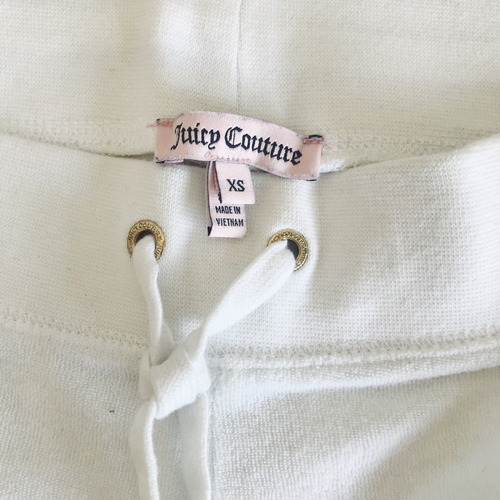 short blanco de juicy couture