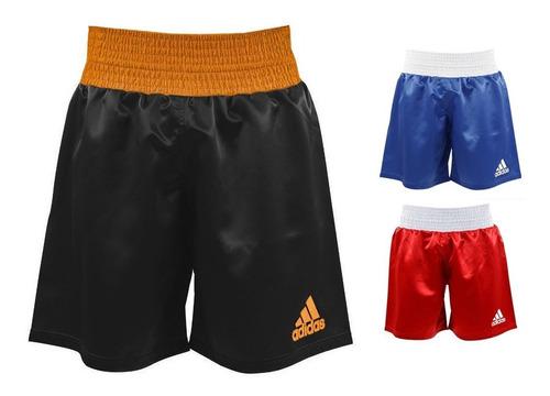 short boxeo adidas pantalon corto kickboxing multiboxing mma