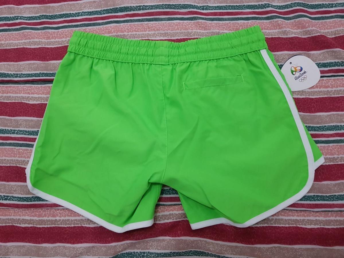221d9ca2b3eb4 short brasil olimpíada hurley - verde feminina. Carregando zoom.