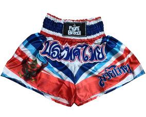 21da54939 Calção Muay Thai Fight Brasil Novo - Artes Marciais e Boxe no Mercado Livre  Brasil