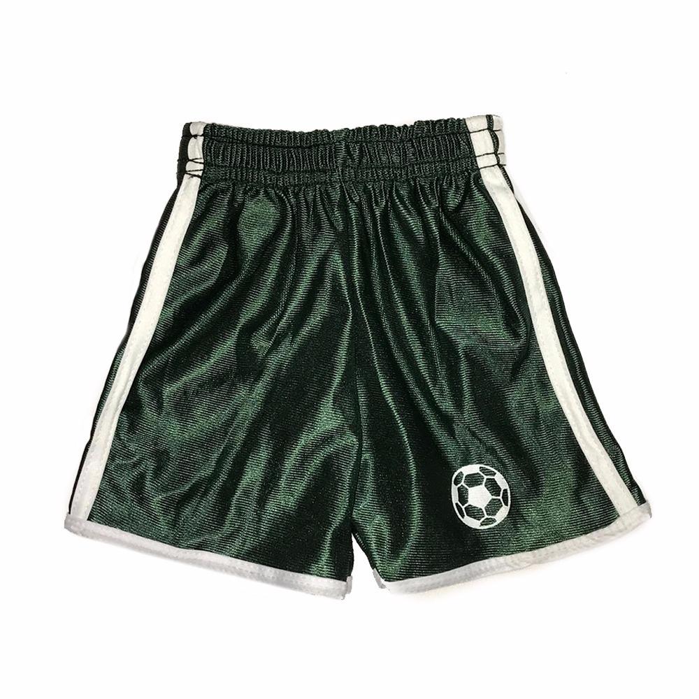 short calção futebol uniforme jogador infantil kit com 5. Carregando zoom. fd23871367675