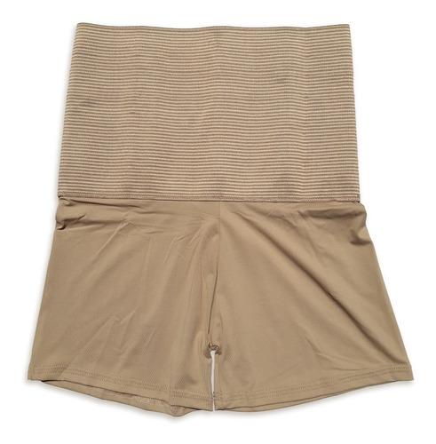 short cinta aperta barriga reduz medida calcinha modeladora