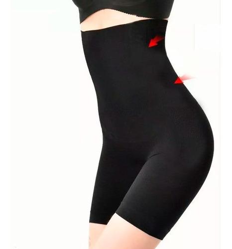 short cintura alta levanta bumbum slim fit cinta modeladora
