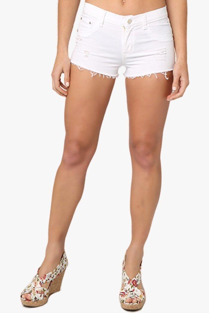 ffa8d6c803 short corto mujer dama blanco mezclilla primavera verano. Cargando zoom.