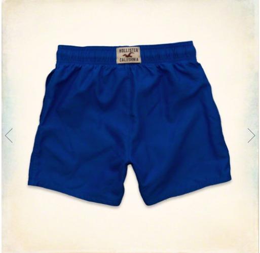 baa7618192635 Short De Banho Hollister Tam G Importado 100% Original! - R  99