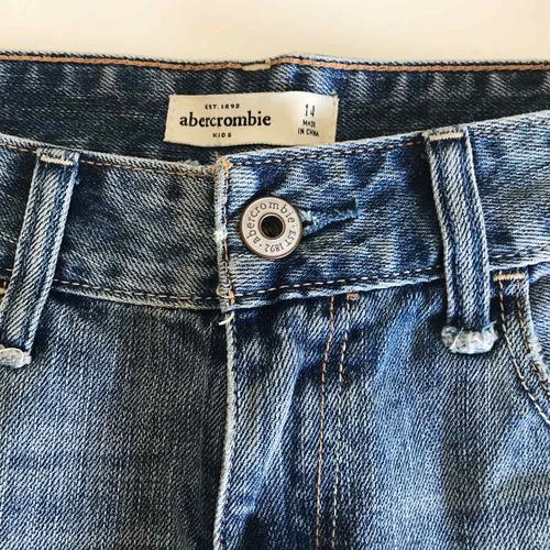 short de jean de abercrombie