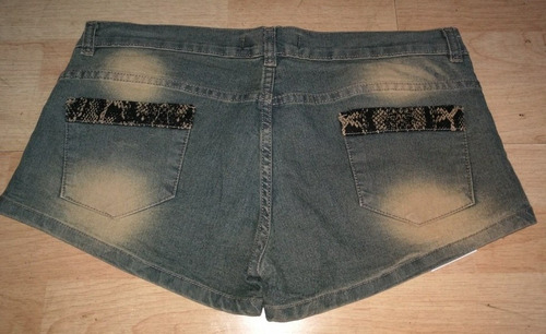 short de jean de mujer