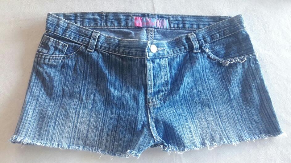 5f3f8647d8 short de jeans corto talle 46. Cargando zoom.