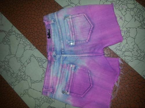 short de jeans talla 16 juv