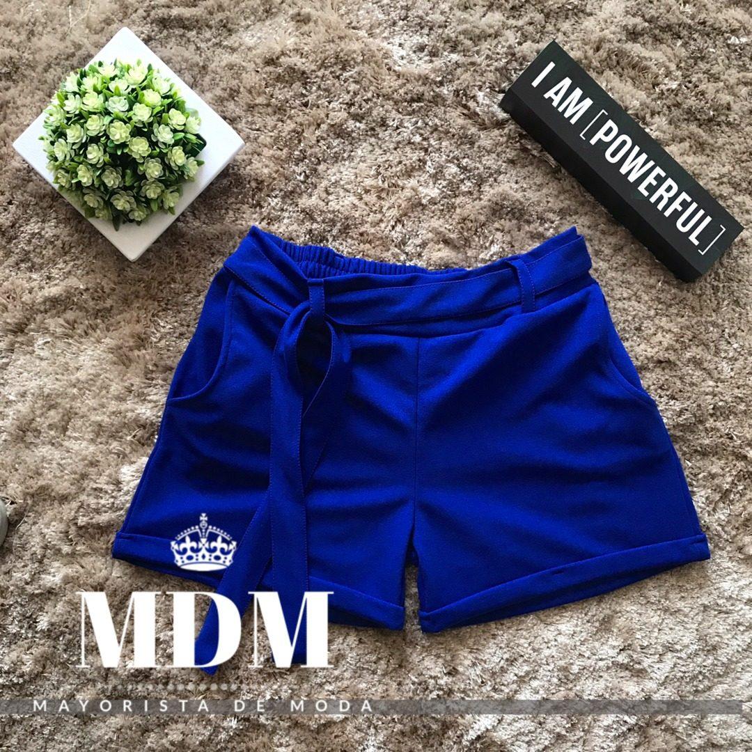 5035b4bea6e2 Short De Moda Para Mujer - Azul. Pantalon Corto (ropa)