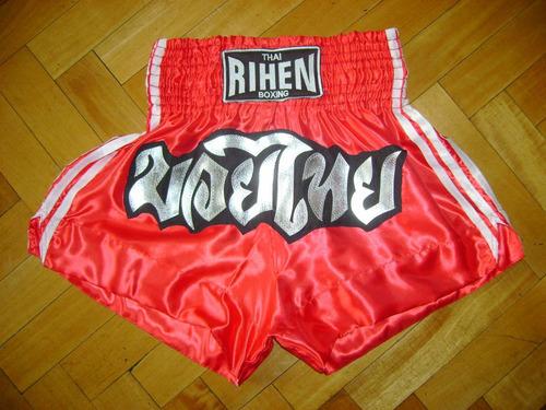 short de muay thai - kick boxing - marca rihen - mma