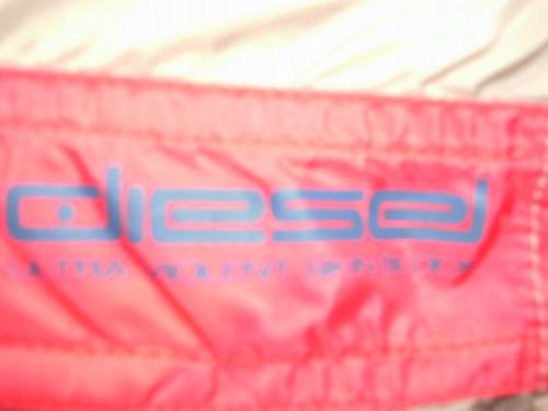 short de nylon para hombre diesel made in italy