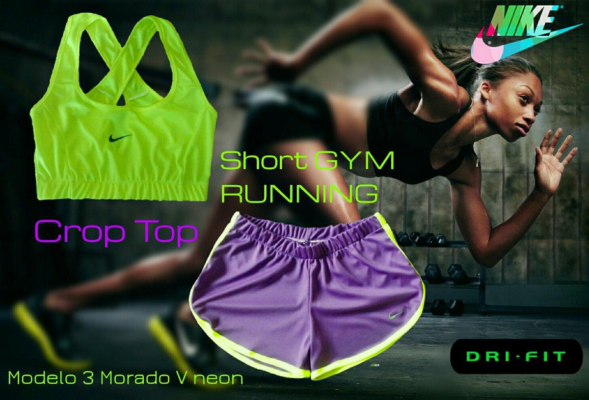 short deportivo top conjunto 100 % dama nike gym crossfit. Cargando zoom. d18f28928f0bb