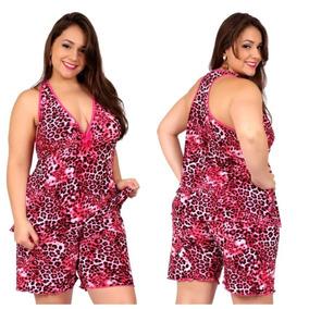0d49fb5a9 Pijama Liganete Bermuda Feminino - Roupa de Dormir no Mercado Livre ...