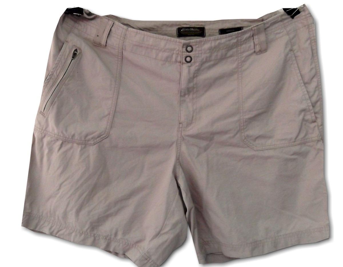 366069c27c99 Short Eddie Bauer Talla Extra T/22w, 44 Mexico Beige - $ 160.00