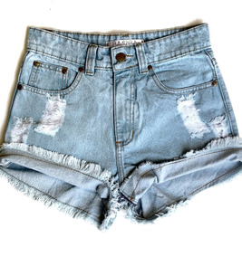 babf19534e Short En Jeans De Talle Alto En Medellin Pantalones - Pantalones y ...