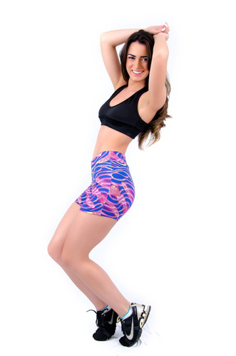 short estampado fitness | ref: 004